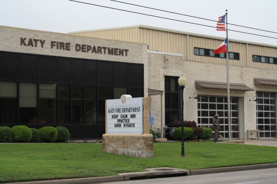 The Katy Fire Department urges residents to follow stay-home orders. (Jen Para/Community Impact Newspaper)