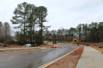 The city of Milton's project to extend Charlotte Drive from Mayfield Road to Birmingham Highway is on track to finish up this spring. (Kara McIntyre/Community Impact Newspaper)