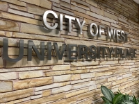 City of West University Place sign