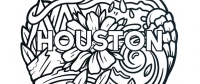 Visit Houston has released a new coloring book to provide an at-home activity during the coronavirus outbreak. (Courtesy Visit Houston)