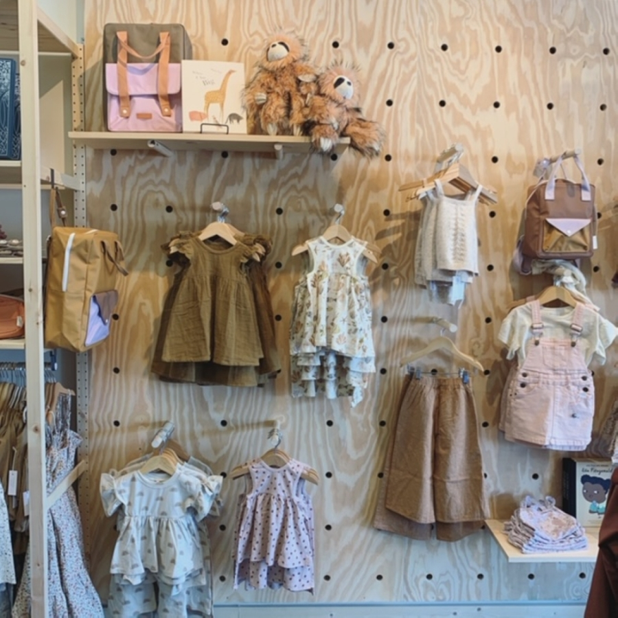 SANNA baby and child, a Kingwood boutique, opened several weeks before the coronavirus outbreak began in the Houston region. (Courtesy SANNA baby and child)