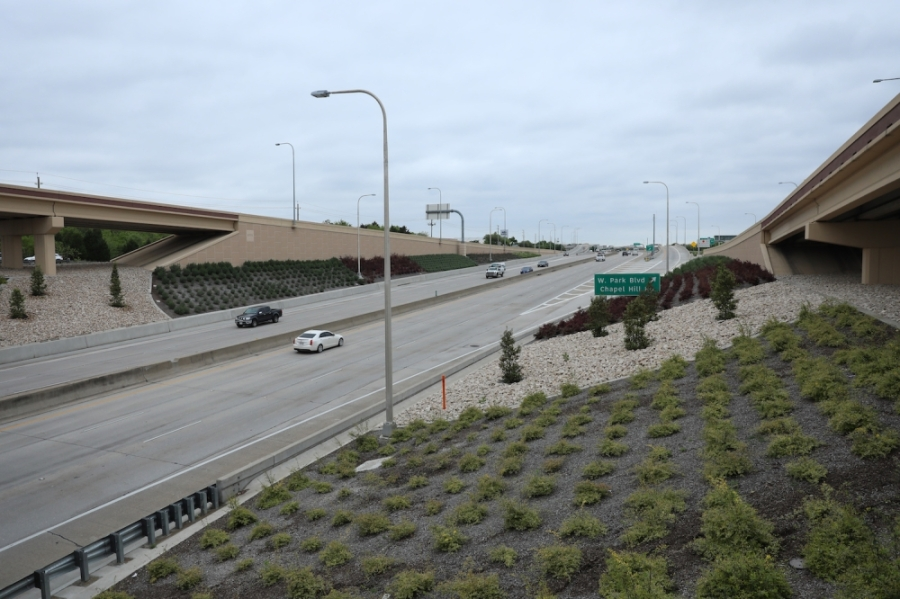 Normally crowded toll roads are experiencing a decline in the number of motorists, according to data from the North Texas Tollway Authority. (Liesbeth Powers/Community Impact Newspaper)