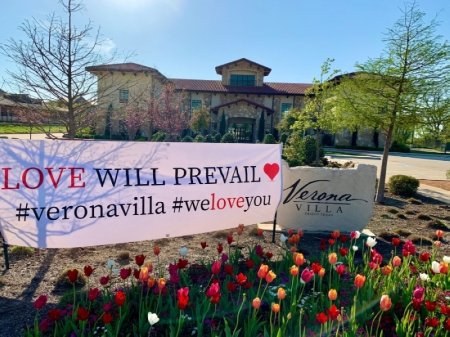 Venue Verona Villa is located on Dallas Parkway. (Courtesy Verona Villa)