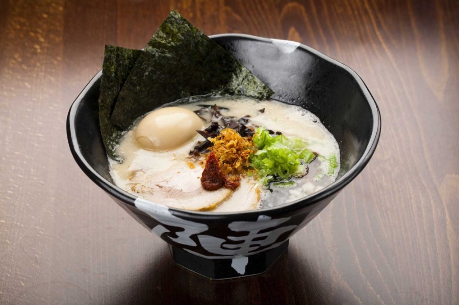 Jinya Ramen is one of 15 restaurants in Domain Northside featured on a takeout bingo card. (Courtesy Jinya Ramen)