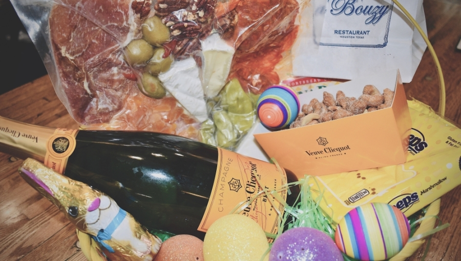 Bring Easter brunch or dinner home with the help of area restaurants, including a'Bouzy in River Oaks. (Courtesy a'Bouzy)