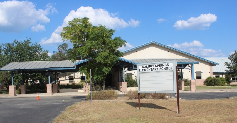 A photo of Walnut Springs Elementary School