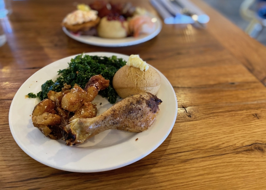 Adele's offers American food in The Gulch. (Dylan Skye Aycock/Community Impact Newspaper)