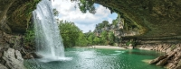 All Travis County parks will be temporarily closed from 8 p.m. April 9 through the holiday weekend. Hamilton Pool Preserve is closed until further notice. (Community Impact Staff)