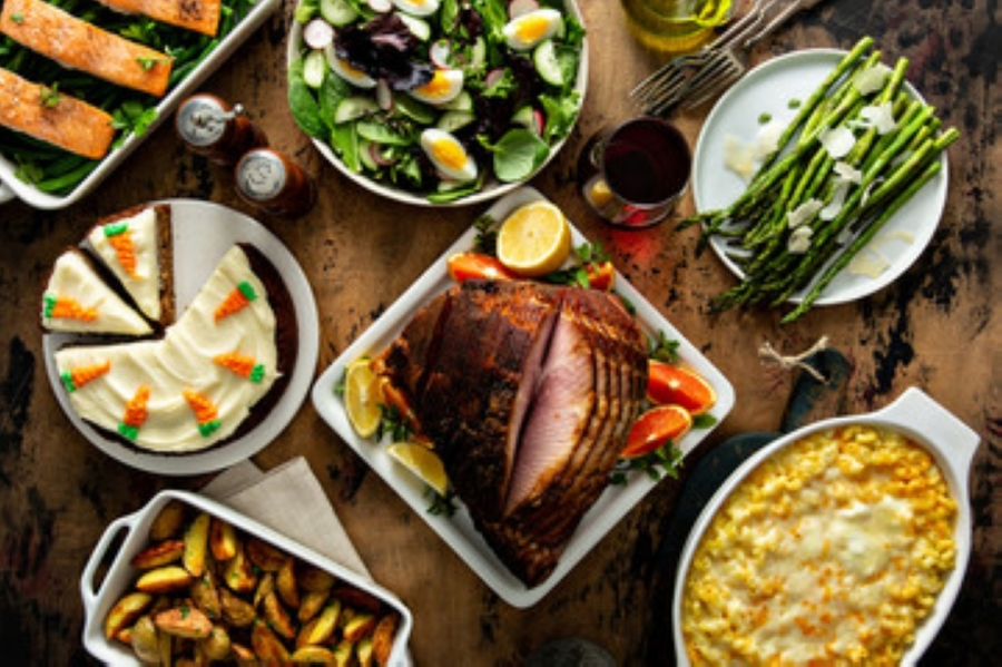 Support Georgetown restaurants with these delivery and carryout Easter options. (Courtesy Adobe Stock)