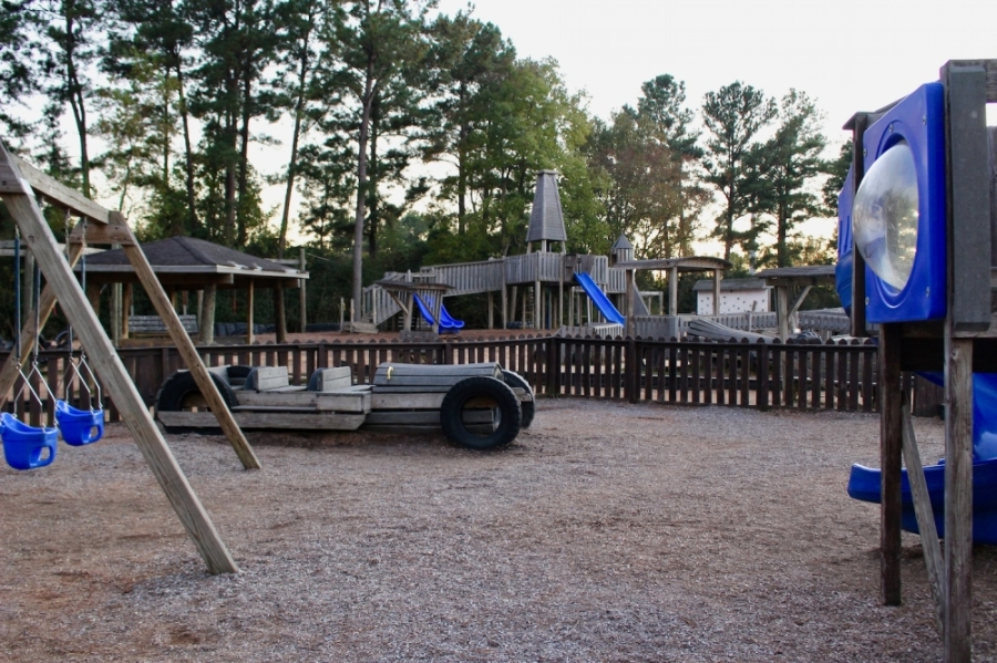 Jerry Matheson Park in Tomball is among the city parks that will be temporarily closed April 10-12. (Anna Lotz/Community Impact Newspaper)