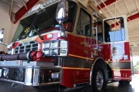 Chief Gary Vincent said the Magnolia Volunteer Fire Department has ramped up its operations to handle an increased call volume during the coronavirus outbreak. (Kara McIntyre/Community Impact Newspaper)