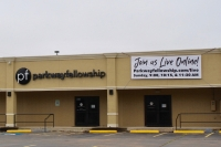Parkway Fellowship's Katy location at 5819 10th St. will offer virtual services for Easter. (Jen Para/Community Impact Newspaper)