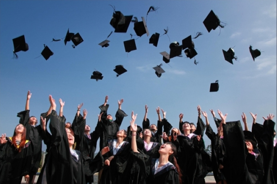 Houston ISD is looking at several options for how to handle graduation ceremonies amid the possibility of extended social distancing requirements. (Courtesy Pexels)