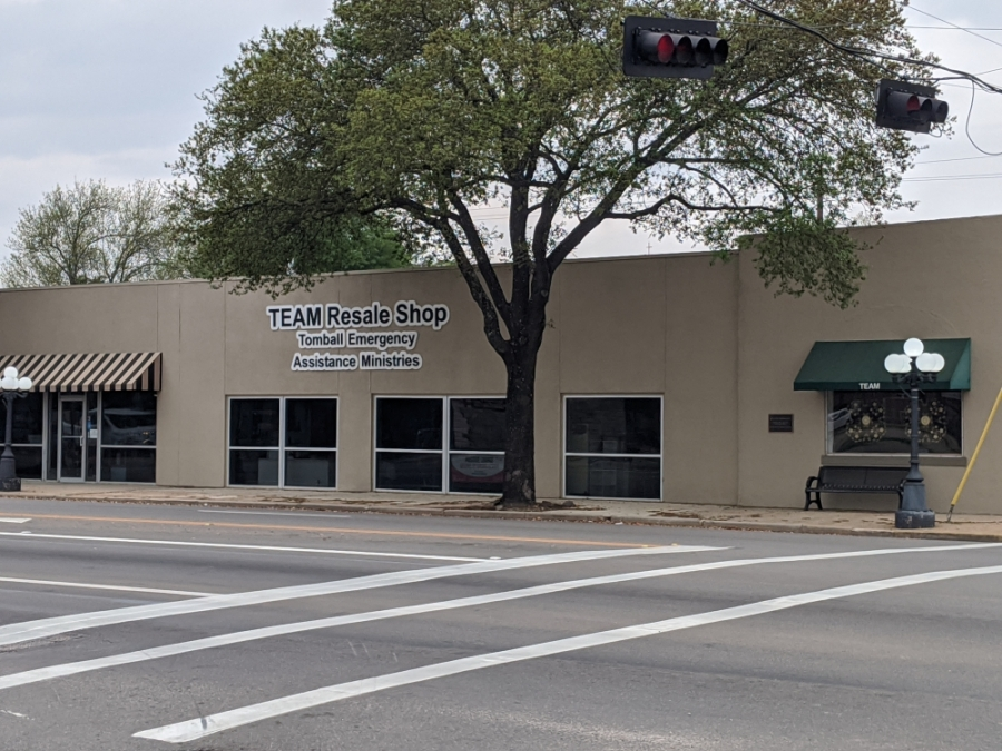 Tomball Emergency Assistance Ministries' Resale Shop had to close temporarily March 19. (Anna Lotz/Community Impact Newspaper)