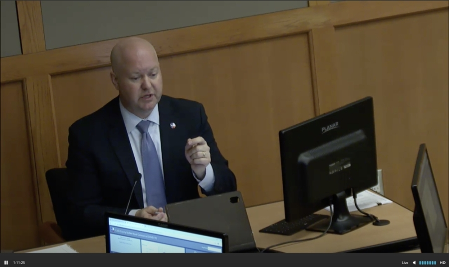 Collin County Judge Chris Hill appointed the Collin County Economic Recovery Task Force. (Courtesy Collin County)