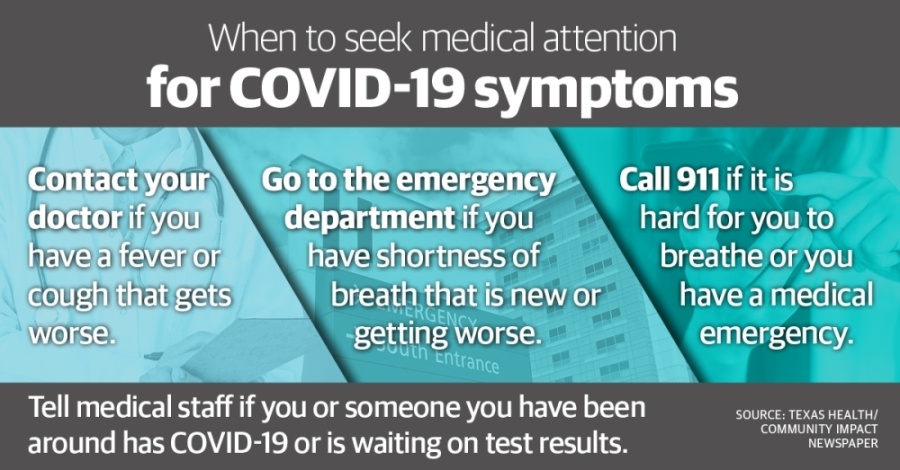 Medical professionals recommend seeking emergency help if an individual is having trouble breathing. (Katherine Borey/Community Impact Newspaper)