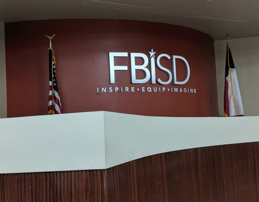 FBISD Chief Financial Officer Bryan Guinn provided the board of trustees with a budget update at the April 13 board meeting.