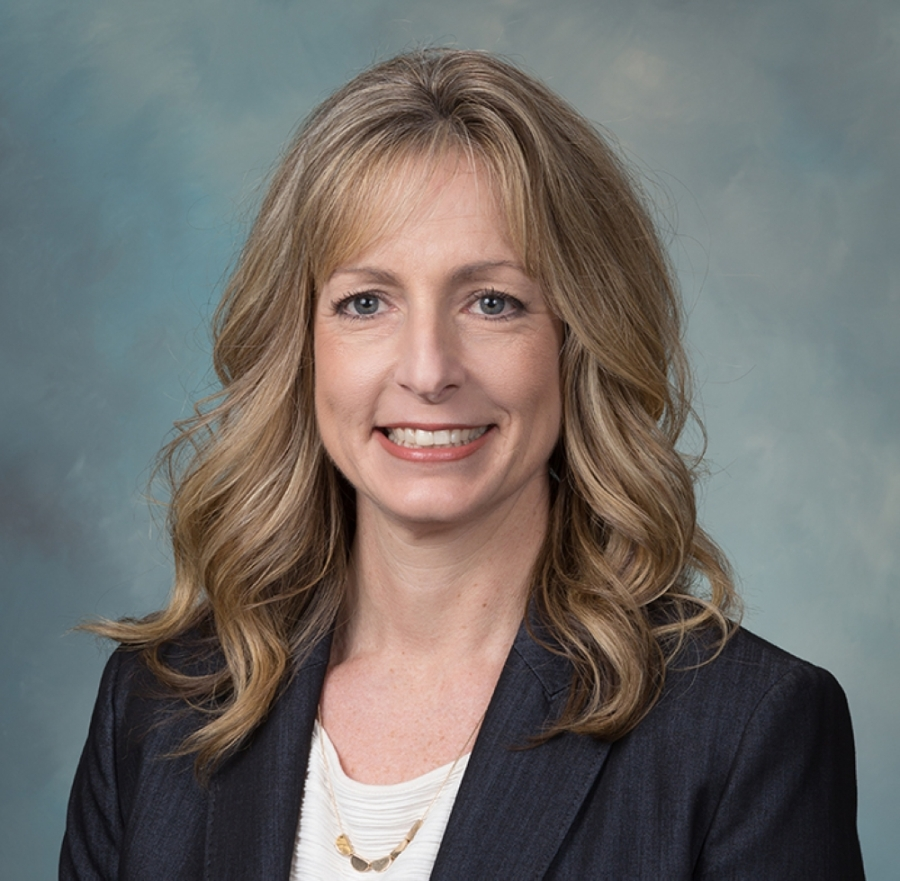 Humble ISD trustee Angela Conrad announced her resignation from the board  at the April 14 board of trustees meeting. (Courtesy Humble ISD)