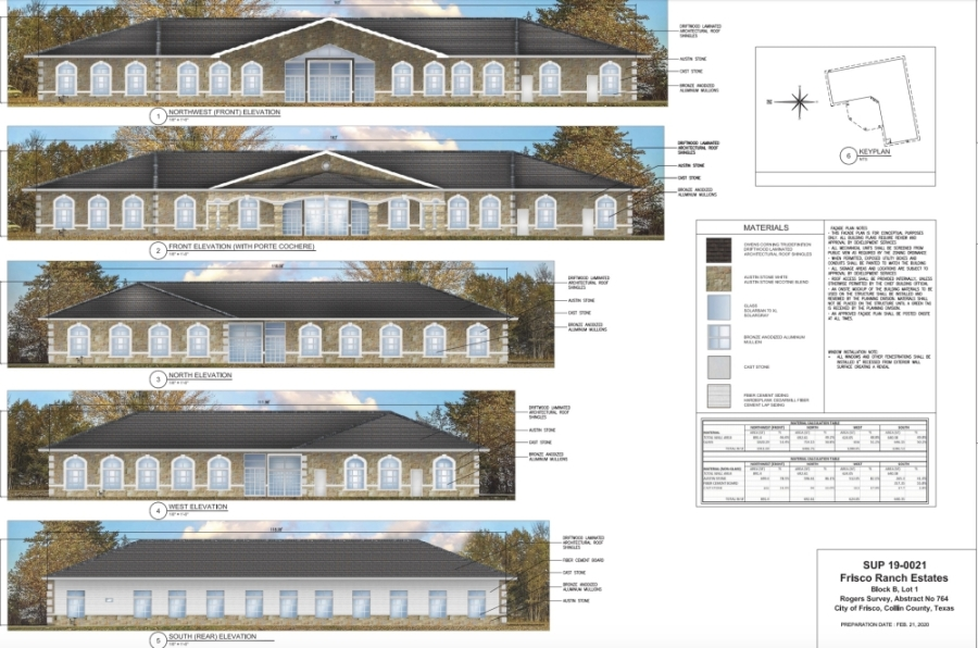 "The church would be smaller than a ""typical Texas church,"" the project owner said. The main sanctuary is expected to be less than 2,000 square feet. (Courtesy city of Frisco)"
