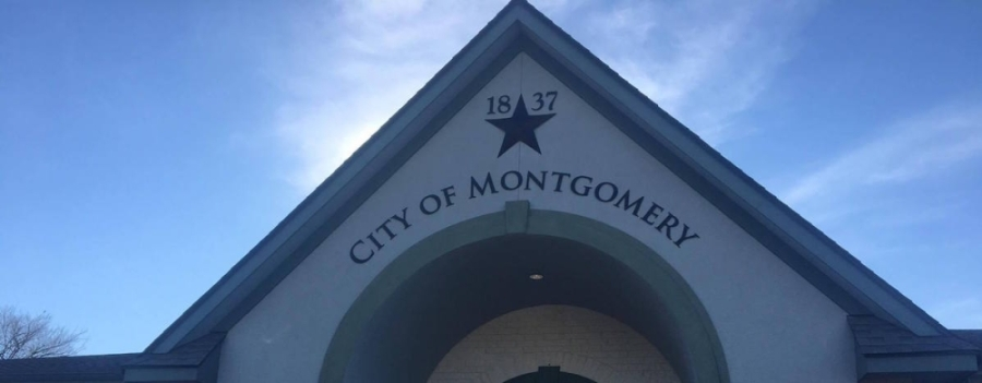 Montgomery City Council met virtually April 14. (Community Impact Newspaper staff)