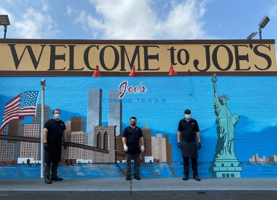 From left: Joe, Fidan and Nick Haliti run Joe's Italian Restaurant. (Courtesy Joe's Italian Restaurant)