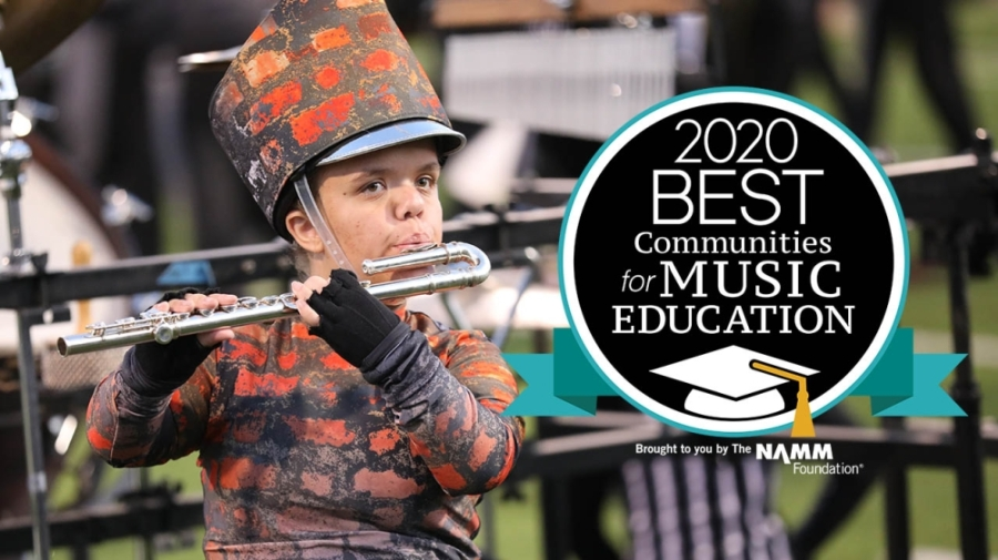 Northwest ISD has been named to the Best Communities for Music Education list for the 12th consecutive year. (Courtesy NISD)