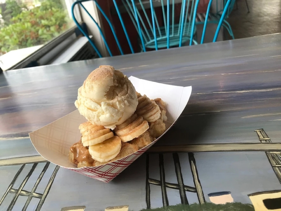 Seabrook Waffle Company is one of nearly 30 eateries participating in #StayHomeSeabrook. (Courtesy Seabrook Waffle Company)