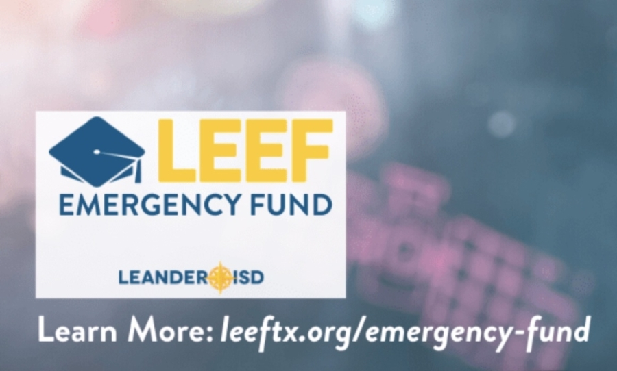 The Leander Educational Excellence Foundation and Hill Country Community Ministries have partnered to create an emergency fund to help Leander ISD staff and families who may be struggling due to coronavirus concerns. (Courtesy Leander Educational Excellence Foundation)