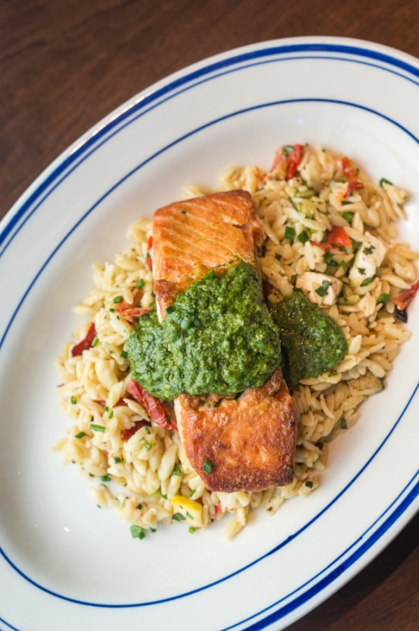 While Coalition Food and Beverage's dining room is closed, guests can still order some of Coalition's food for pickup at Osteria Mattone, its sister restaurant in Roswell. (Courtesy Coalition Food and Beverage)