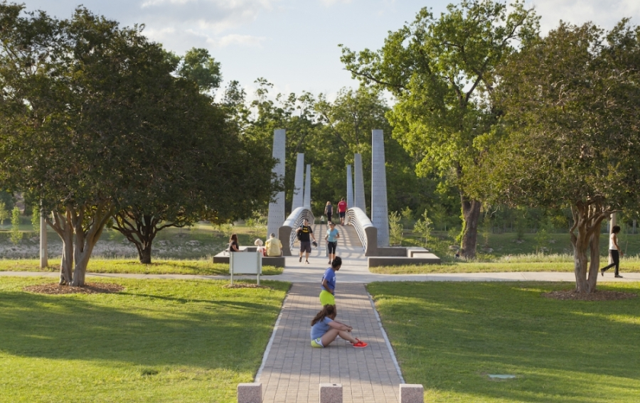 All city of Houston parks remain open but the city will limit access over the weekend of April 17. (Courtesy Visit Houston)