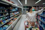 Lewisville, Flower Mound and Highland Village grocery stores are finding ways to supply the community with groceries while preventing the spread of the coronavirus. (Courtesy Adobe Stock)