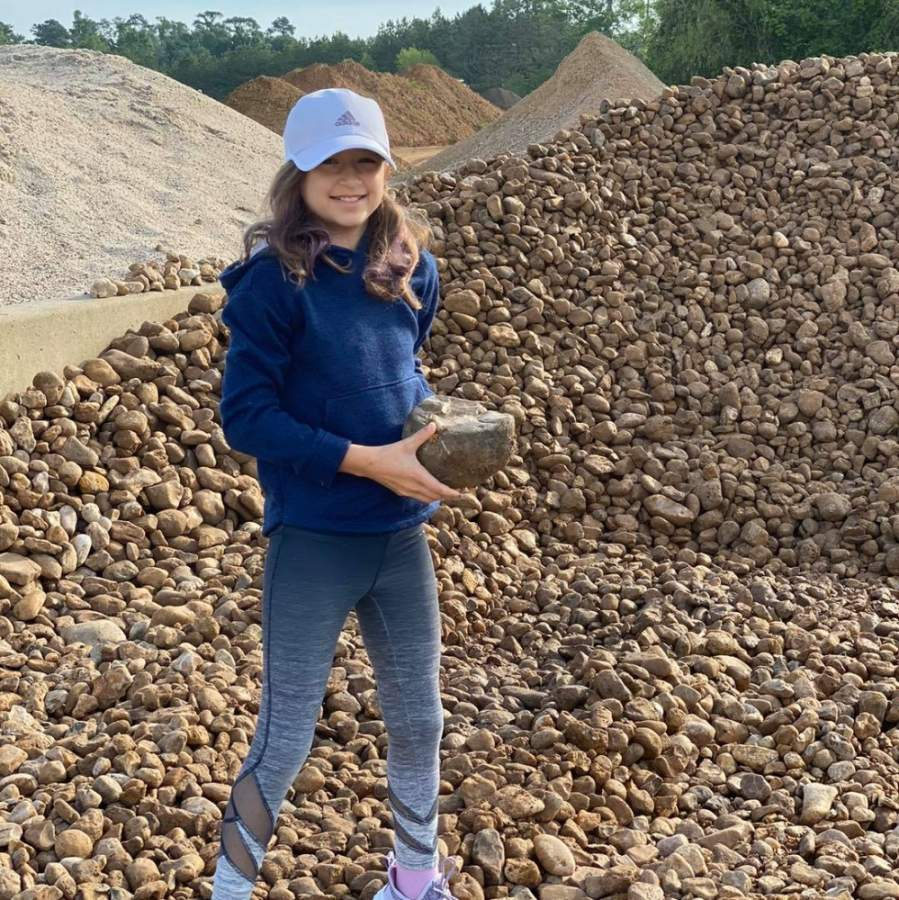Children can now receive a free pet rock from RAC Materials, which has locations in Tomball and Pinehurst. (Courtesy RAC Materials)