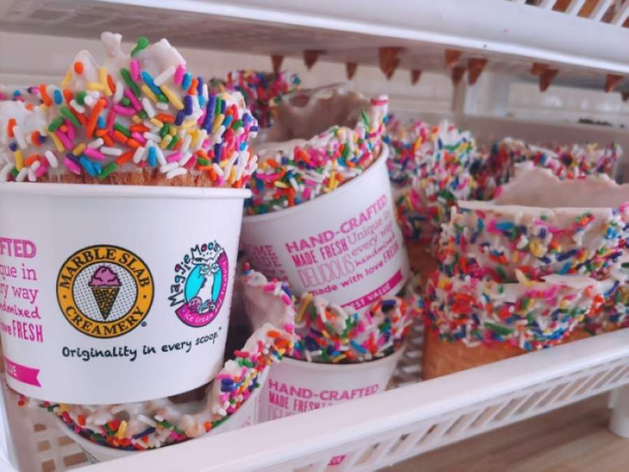 A new Great American Cookies and Marble Slab Creamery opened in Richmond. (Courtesy Karina Magalong)