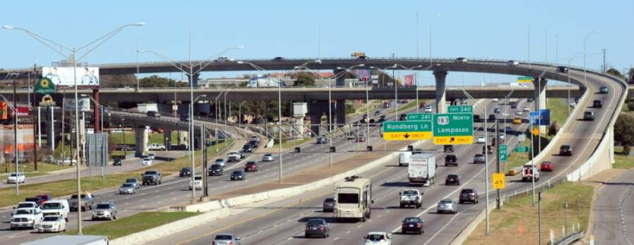 A $4.3 billion project on I-35 will add managed lanes through downtown Austin. To fund the project, the Capital Area Metropolitan Planning Organization will defer $633 million worth of projects that had previously been approved. (Amy Denney/Community Impact Newspaper)