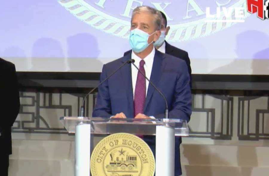 Former Shell Oil Co. President Marvin Odum was named Houston's coronavirus recovery czar April 20. (Screenshot via HoustonTV)