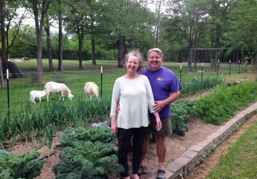 Lisa and Jim Jenkins have operated the Jenkins Sunshine Farm since 2009, where they grow fresh produce and care for livestock. (Courtesy Jenkins Sunshine Farm)