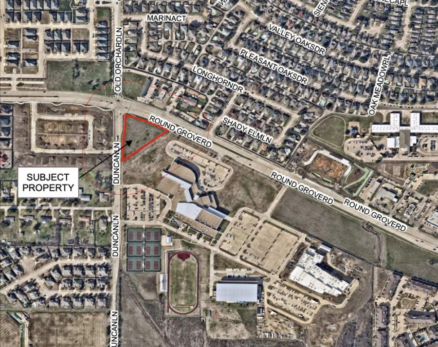 Lewisville City Council unanimously voted April 20 to approve the final plat for Dental Depot, which is set to open an 11,300-square-foot office at Duncan Lane and West Round Grove Road. (Courtesy city of Lewisville)