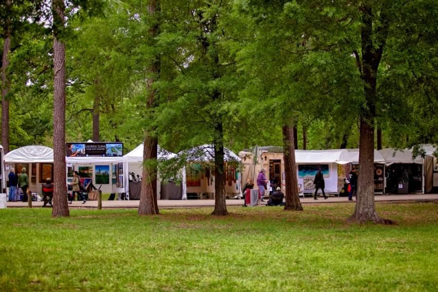 Originally slated for March 25-27, the Bayou City Art Festival was canceled as the coronavirus outbreak began to unfold. (Courtesy Katya Horner/Bayou City Art Festival)