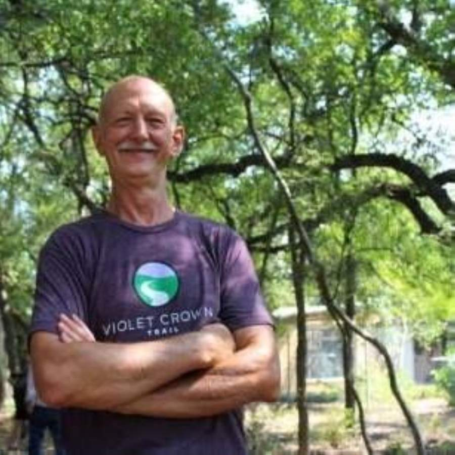 George Cofer was set to retire in April but has decided to stay on during the ongoing coronavirus pandemic. (Courtesy Hill Country Conservancy)