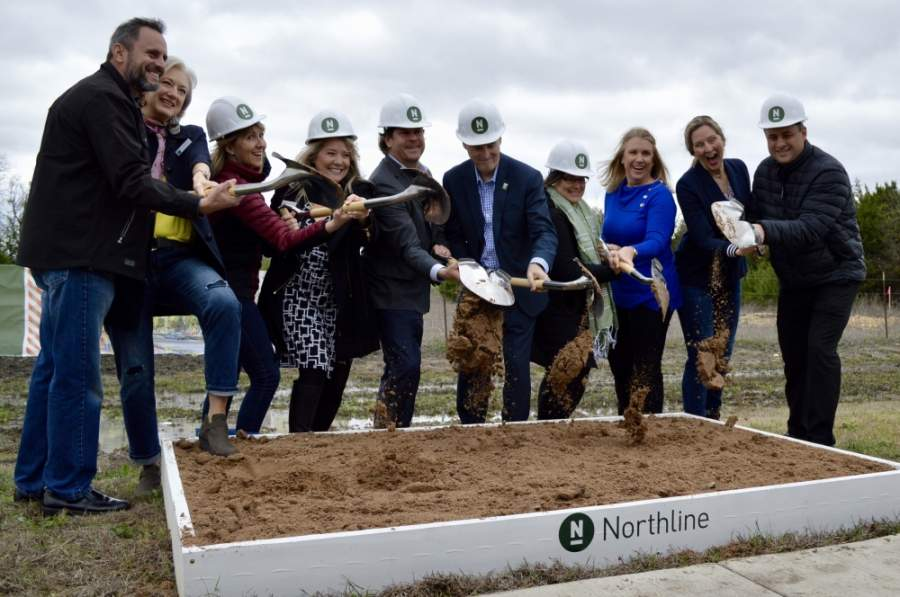 Developer Alex Tynberg said the project has not lost a step since its March 4 groundbreaking. (Taylor Girtman/Community Impact Newspaper)