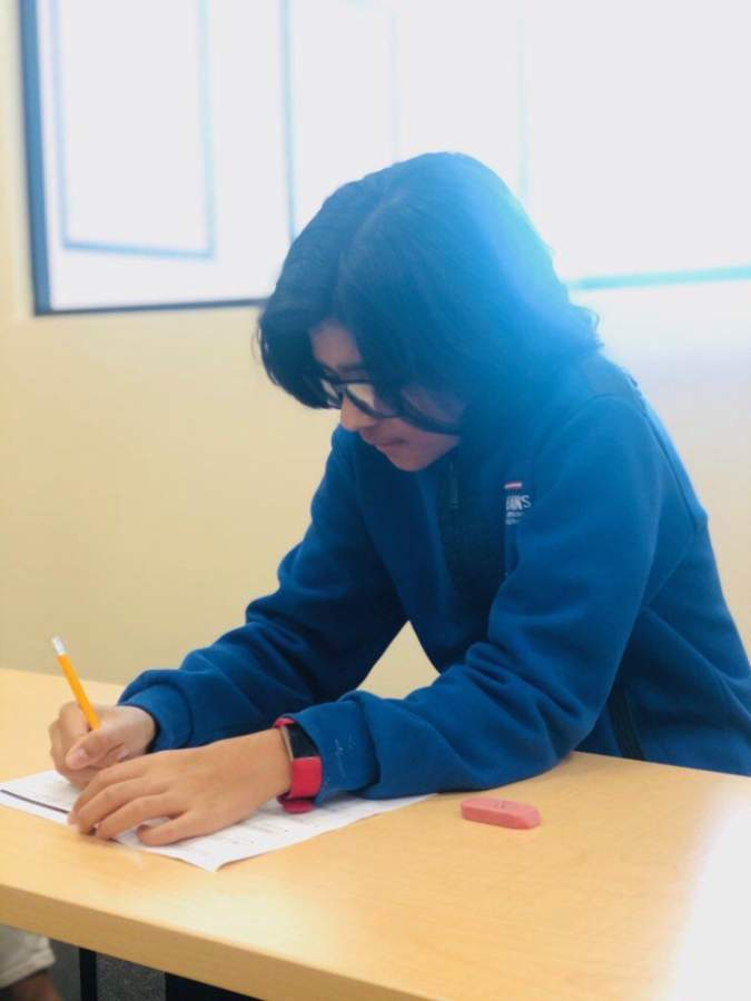 Kumon Math and Reading Center of Katy Young Ranch opened April 15 for in-person and virtual tutoring. (Courtesy Anshu Parashar)