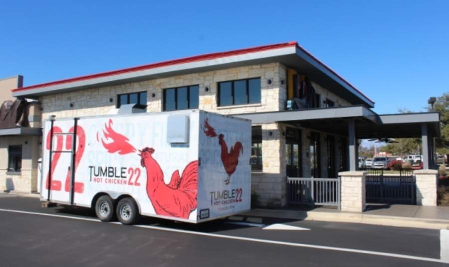 The Cedar Park location is Tumble 22's second Austin-area storefront. (Brian Perdue/Community Impact Newspaper)