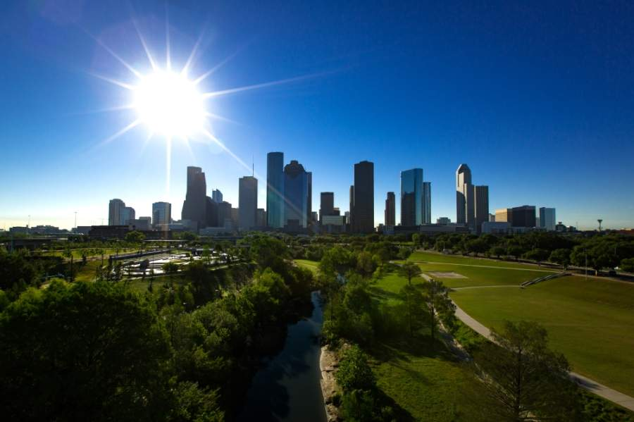 Houston's climate action plan calls for the city to go carbon neutral by 2050. (Courtesy Visit Houston).