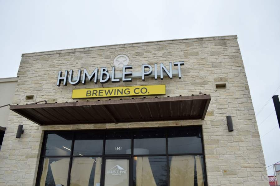 The family-owned craft brewery is open for to-go beer and food orders. (Taylor Girtman/Community Impact Newspaper)