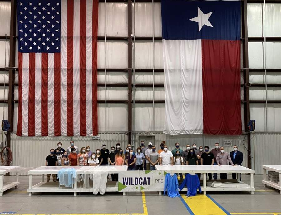 Wildcatt PPE looks to hire at least 200 more people for its new Tomball location. (Courtesy of Wildcat PPE)