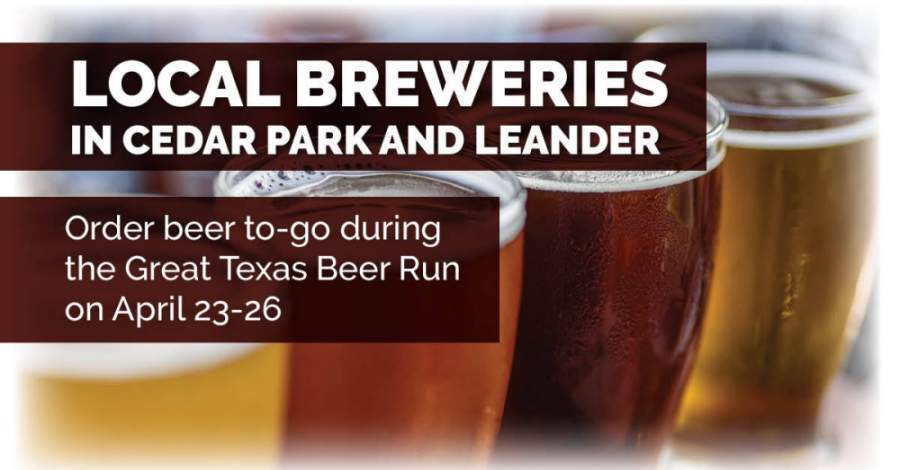 The Great Texas Beer Run runs April 23-26 and supports small and independent breweries. (Adobe Stock Photo)