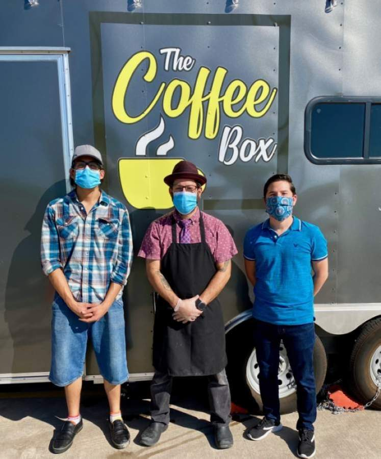 Coffee Box is located at 1101 Bunton Creek Road, Kyle. (Courtesy Coffee Box)