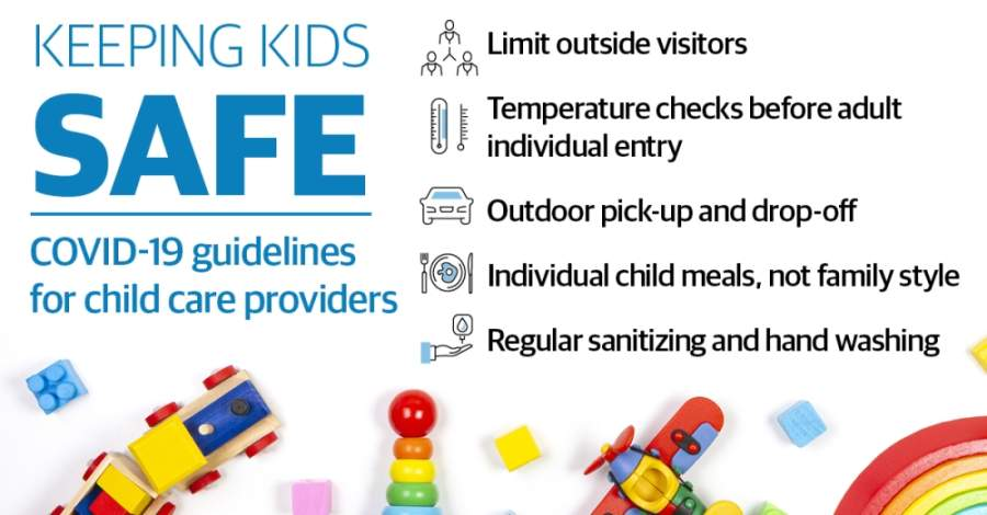 Child care facilities are contending with COVID-19 restrictions that limit care to children of essential workers only. (Source: Texas Department of Health and Human Services) (Katherine Borey/Community Impact Newspaper)