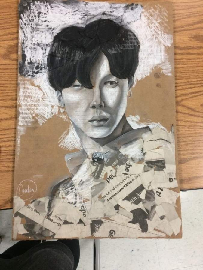 Georgetown high school student artwork. (Courtesy The Georgetown Project)