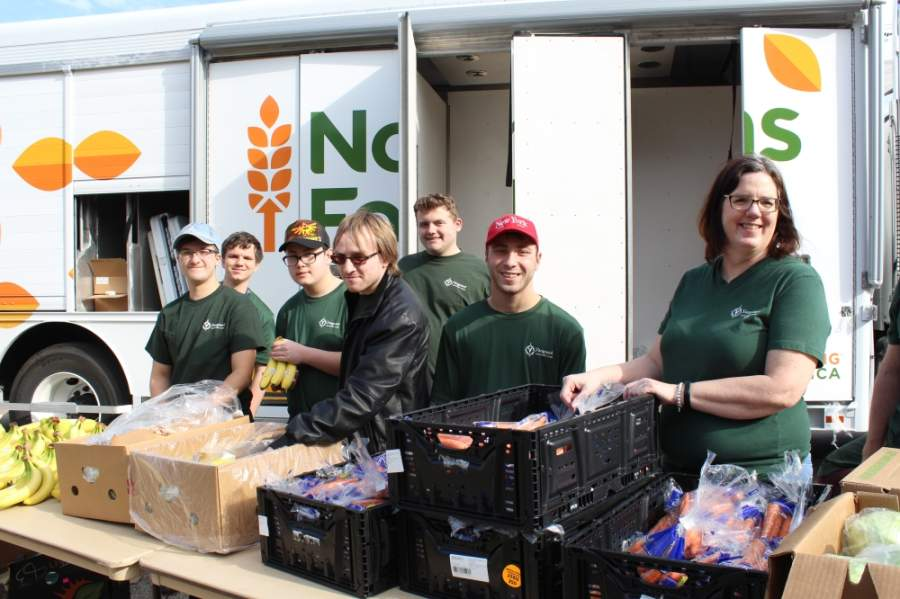 A mobile food pantry will be held at McKinney ISD Stadium on April 28. (Courtesy North Texas Food Bank)